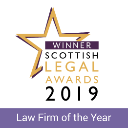 Scottish Legal Awards 2019 logo