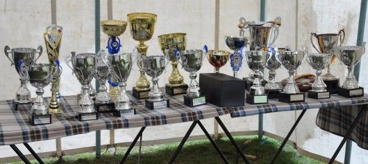 Trophies and awards for Bikes in the Park 2018
