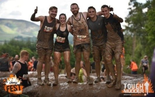 Digby Brown staff at tough mudder for local charities 2016