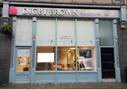 Digby Brown Aberdeen Office