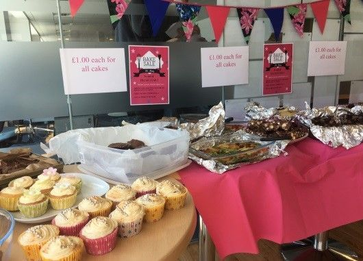 Digby Brown Edinburgh bake sale for Fresh Start charity