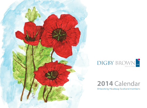 Headway Calendar Cover 2014 winning entry