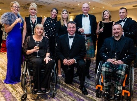 Spinal Injuries Scotland Winter Dinner Dance by Digby Brown Solicitors