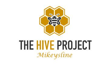 The Hive Project Mikeys Line Logo