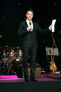 Des Clarke at Digby Brown Winter Dinner Dance 2013
