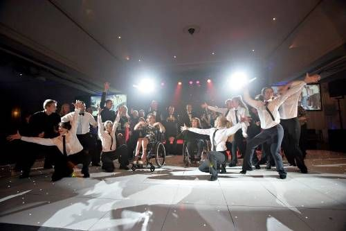 Flash mob at Digby Brown Winter Dinner Dance 2013