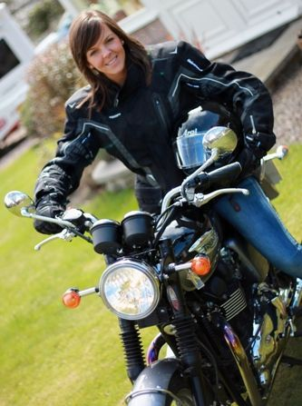 Carrie-Anne McPherson, Motorcycle Solicitor Digby Brown