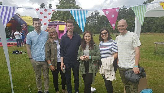 Dundee Office at Party in the Park fundraiser 2019