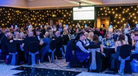 Guests at Digby Brown Winter Dinner Dance 2019
