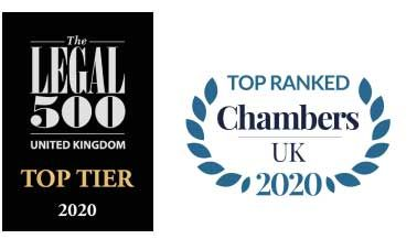 Chambers and Legal 500 logo's